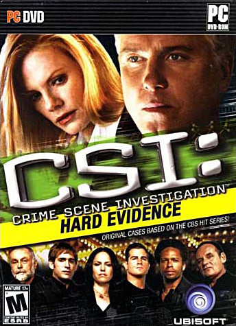 CSI - Hard Evidence (PC) PC Game