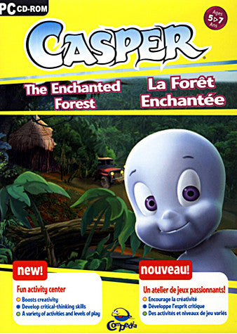 Casper - The Enchanted Forest (French and English Version) (PC) PC Game