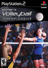 Womens Volleyball Championship (Limit 1 copy per client) (PLAYSTATION2)