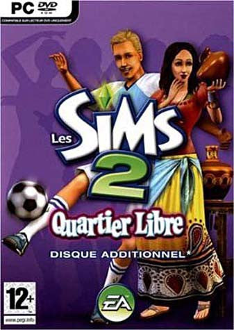 Les Sims 2 Quartier Libre (French Version Only) (PC) PC Game