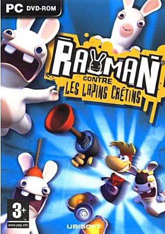 Rayman Contre les Lapins Cretins (French Version Only) (PC) PC Game