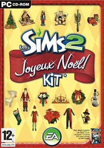 Les Sims 2 Kit Joyeux Noel (French Version Only) (PC) PC Game