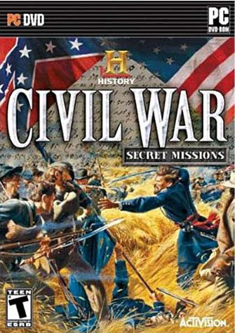 History Channel Civil War - Secret Missions (PC) PC Game