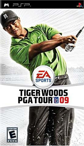 Tiger Woods PGA Tour 09 (PSP) PSP Game