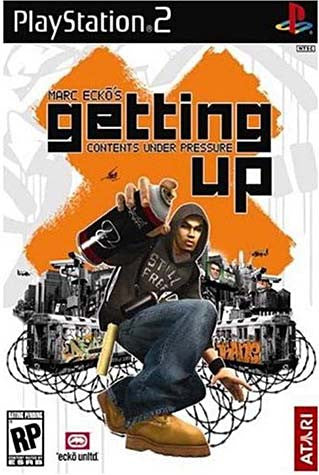 Marc Ecko's Getting Up - Contents Under Pressure (PLAYSTATION2) PLAYSTATION2 Game