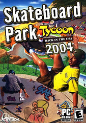 Skateboard Park Tycoon - Back in the USA 2004 (PC)