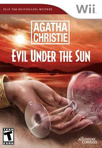 Agatha Christie - Evil Under The Sun (NINTENDO WII) NINTENDO WII Game