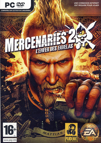 Mercenaries 2 - L'Enfer Des Favelas (French Version Only) (PC) PC Game