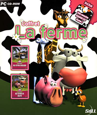 Coffret La Ferme - Ma Ferme Exotique et Ma Ferme en Delire (French Version Only) (PC) PC Game