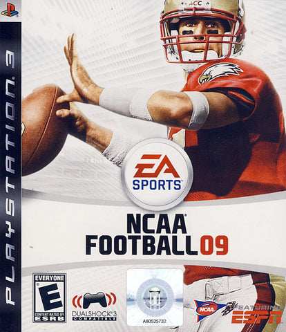 NCAA Football 09 (PLAYSTATION3) PLAYSTATION3 Game
