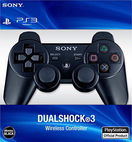 PlayStation 3 Dualshock 3 Wireless Controller - Black (Accessory) (PLAYSTATION3) PLAYSTATION3 Game