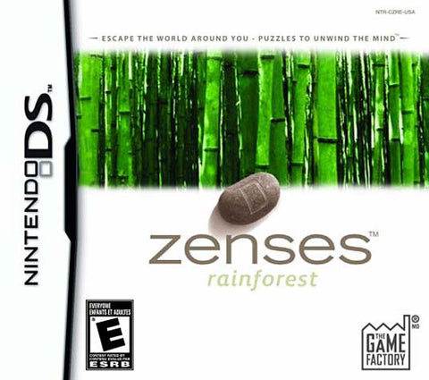 Zenses - Rainforest Edition (Trilingual Cover) (DS) DS Game