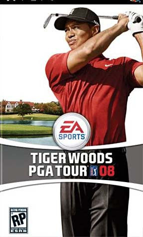 Tiger Woods PGA Tour 08 (PSP) PSP Game