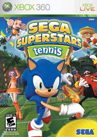Sega Superstars Tennis (BONUS Live Arcade Compilation Disc) (XBOX360) XBOX360 Game