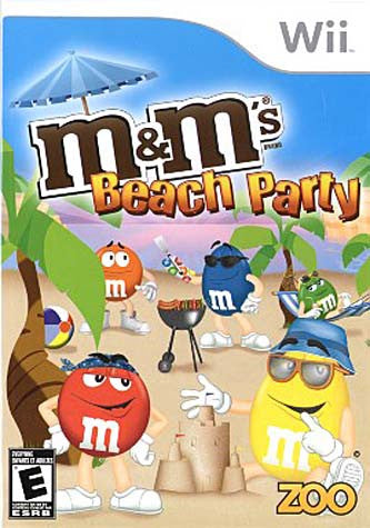 M&M's - Beach Party (NINTENDO WII) NINTENDO WII Game