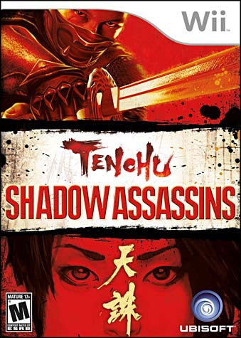 Tenchu - Shadow Assassins (NINTENDO WII) NINTENDO WII Game