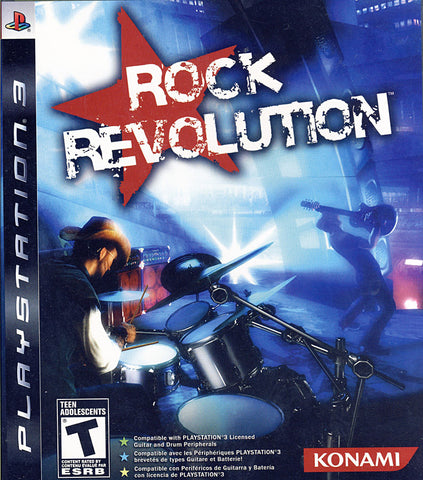 Rock Revolution (Trilingual Cover) (PLAYSTATION3) PLAYSTATION3 Game