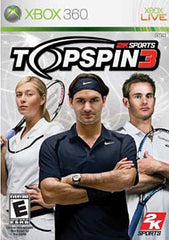 Top Spin 3 (XBOX360)