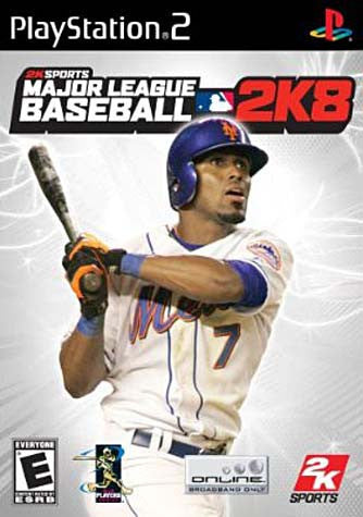 Major League Baseball 2K8 (Limit 1 copy per client) (PLAYSTATION2) PLAYSTATION2 Game