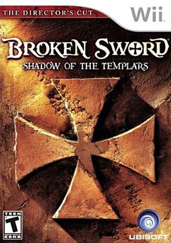Broken Sword - Shadows of the Templars (The Director's Cut) (NINTENDO WII) NINTENDO WII Game