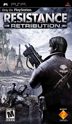 Resistance: Retribution (PSP) PSP Game
