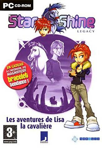 Starshine Legacy - Les Aventures de Lisa la Cavaliere (French Version Only) (PC) PC Game