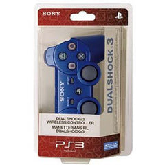 PlayStation 3 Dualshock 3 Wireless Controller - Metallic Blue (Accessory) (PLAYSTATION3)