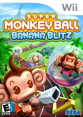 Super Monkey Ball Banana Blitz (NINTENDO WII) NINTENDO WII Game