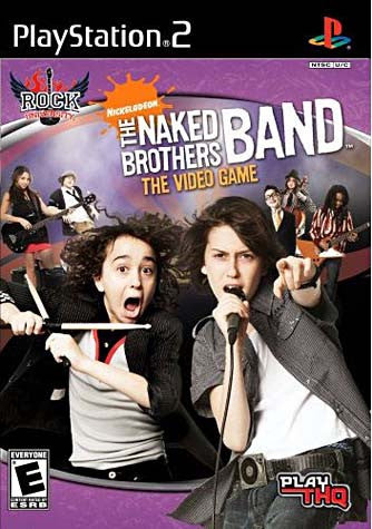 Rock University Presents - The Naked Brothers Band The Video Game (PLAYSTATION2) PLAYSTATION2 Game