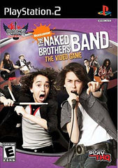 Rock University Presents - The Naked Brothers Band The Video Game (PLAYSTATION2)