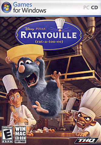 Ratatouille - Disney's (Win/Mac) (Limit 1 copy per client) (PC) PC Game