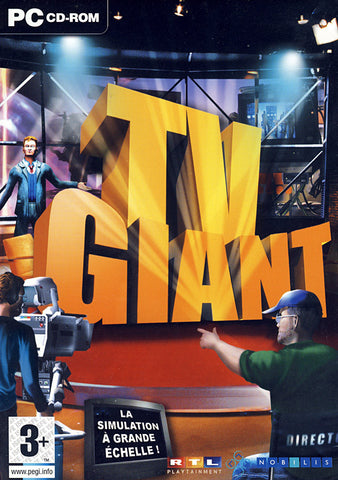 TV Giant (French Version Only) (PC) PC Game