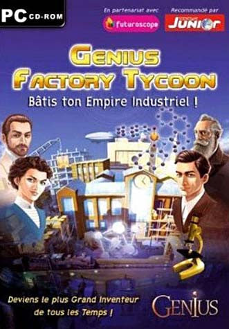 Genius Factory Tycoon (French Version Only) (PC) PC Game