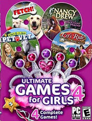 Ultimate Games for Girls 4 (4 Complete Games) (PC)
