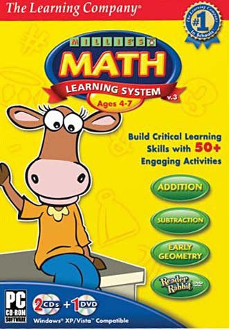 Millie's Math Learning System 2008 (PC) PC Game