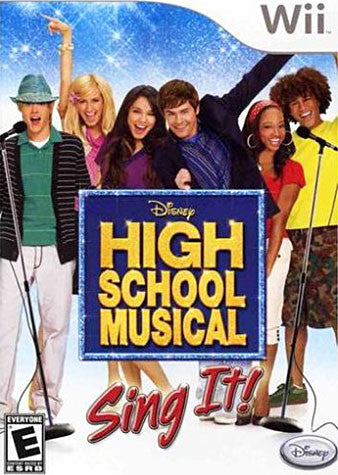 High School Musical - Sing It (NINTENDO WII) NINTENDO WII Game
