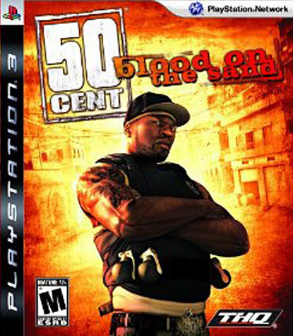 50 Cent - Blood on the Sand (PLAYSTATION3) PLAYSTATION3 Game
