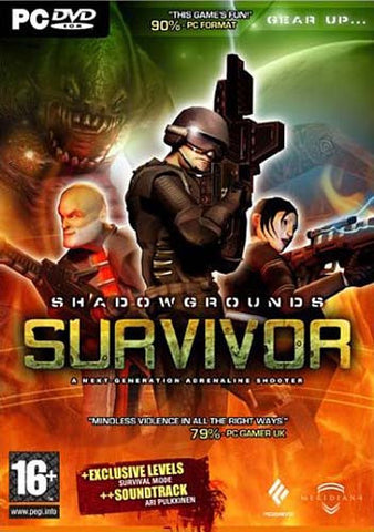 Shadowgrounds Survivor (PC) PC Game