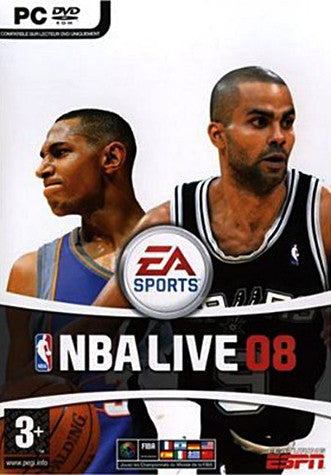 NBA Live 08 (French Version Only) (PC) PC Game