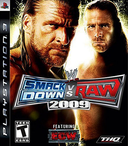 WWE Smackdown vs Raw 2009 (PLAYSTATION3) PLAYSTATION3 Game