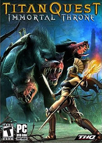 Titan Quest - Immortal Throne Expansion Pack (PC) PC Game