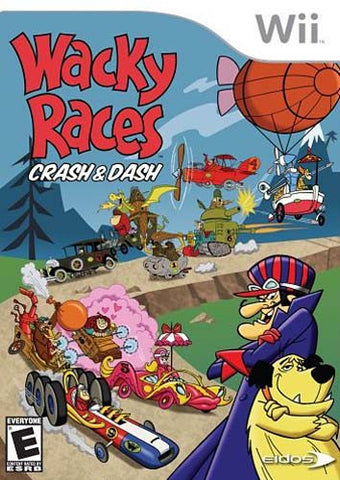 Wacky Races - Crash and Dash (NINTENDO WII) NINTENDO WII Game