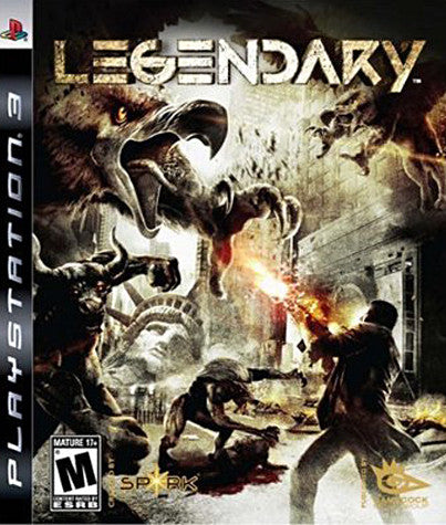 Legendary (PLAYSTATION3) PLAYSTATION3 Game