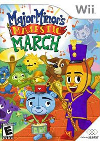 Major Minor s Majestic March (NINTENDO WII) NINTENDO WII Game