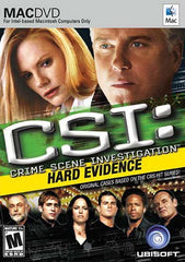 CSI - Hard Evidence (Mac) (PC)