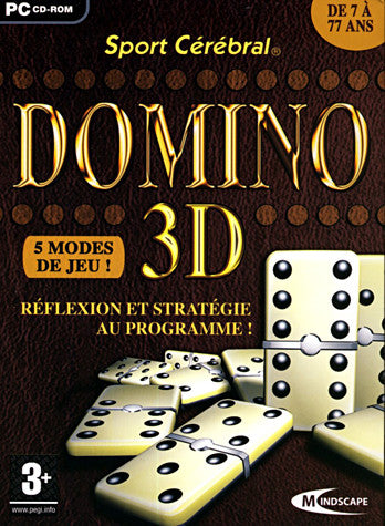 Sport Cerebral - Domino 3D (French Version Only) (PC) PC Game