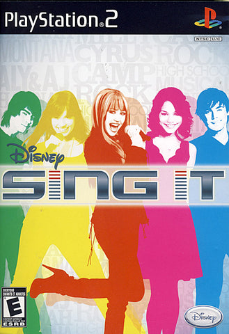 Disney - Sing It (Limit 1 copy per client) (PLAYSTATION2) PLAYSTATION2 Game