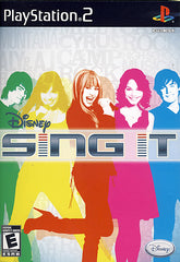 Disney - Sing It (Limit 1 copy per client) (PLAYSTATION2)