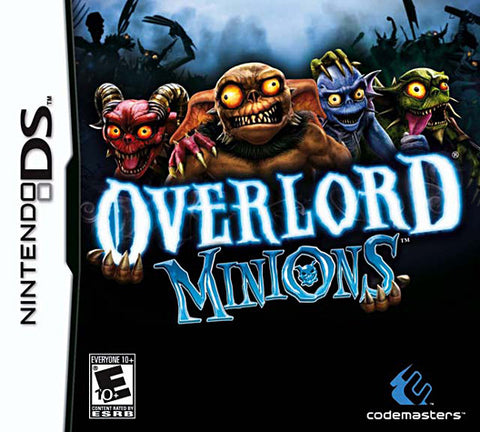 Overlord  - Minions (Bilingual Cover) (DS) DS Game