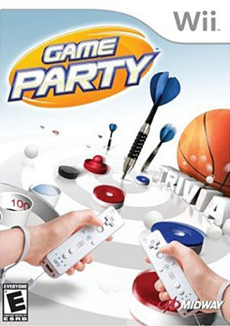 Game Party (Bilingual Cover) (NINTENDO WII) NINTENDO WII Game